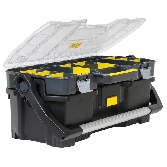 Stanley 24 inch Toolbox with Toth Tray Organiser