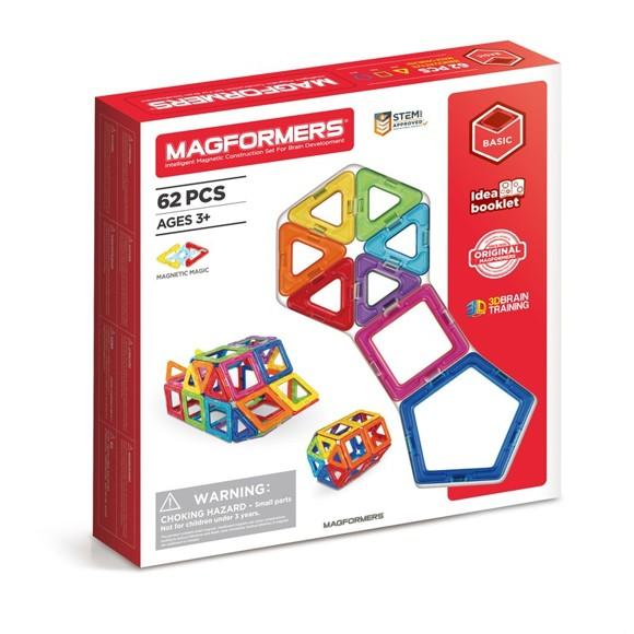 Magformers - Rainbow 62 pc (3004)