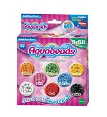 Aquabeads - Perlepakke med faste farver