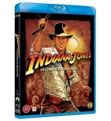 Indiana Jones - Quadrilogy Box (5 disc)(Blu-Ray)