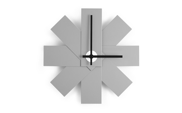 Normann Copenhagen - Watch Me Wall Clock - Grey (341017)