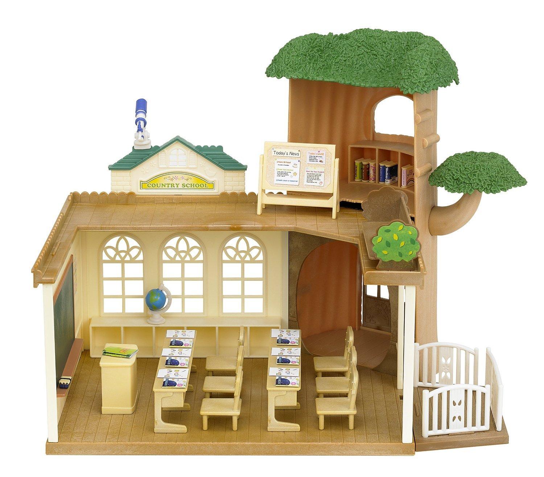 Sylvanian Families - Country Tree School