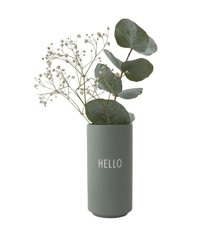 ​Design Letters - Favorit Vase Hello - Green (10101005GREENHELLO)