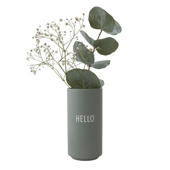 Design Letters - Favorit Vase Hello - Green (10101005GREENHELLO)