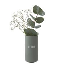 Design Letters - Favoritvase Hello - Grøn