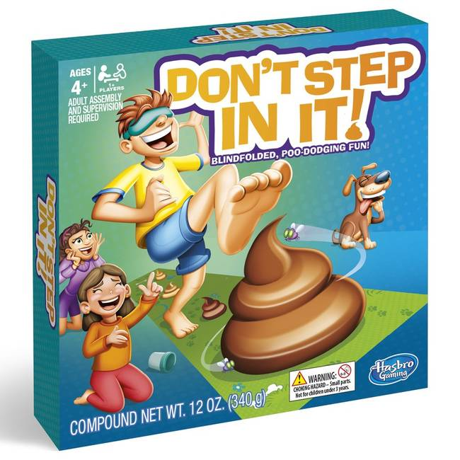 Hasbro - Don't Step In It - Brætspil (E2489TBC)
