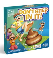 Hasbro - Don't Step In It - Koko perheen peli (E2489TBC)