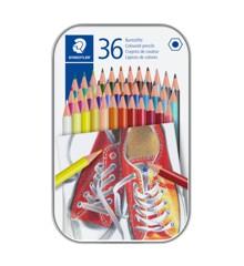 Staedtler - Coloured pencil hexagonal in metal boks, 36 pc (175 M36)