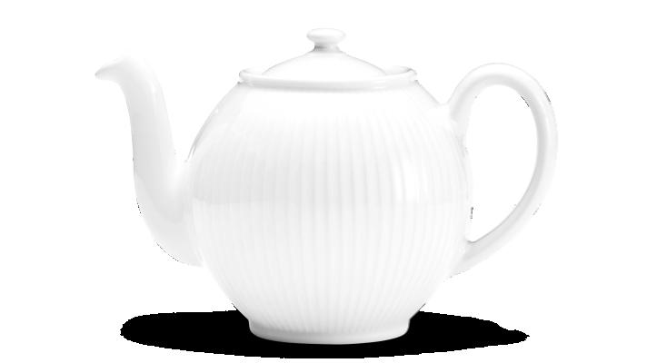 Pillivuyt - Plissé Tea Pot - White (334215)