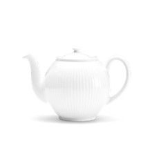 Pillivuyt - Plissé Tea Pot - White (334215)