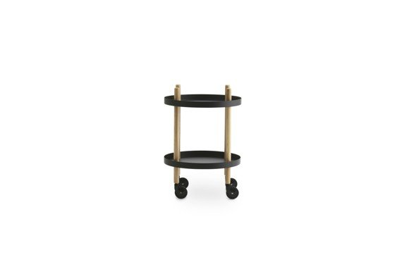 Normann Copenhagen - Block Round Table - Black (602198)