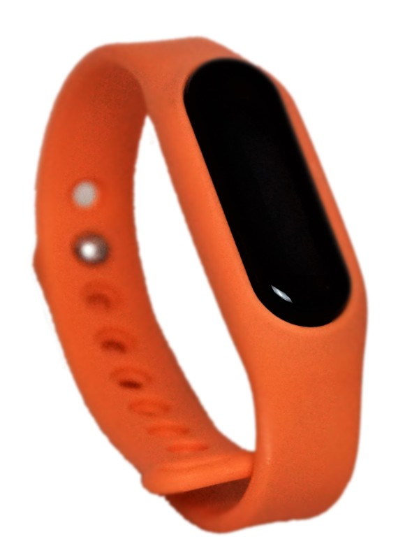 Go-tcha Wristband Orange Strap