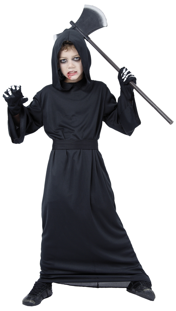 Grim Reaper - Childrens Costume (Size 110-116) (94067-3)