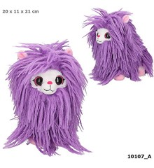 Snukis Plush - Lolly the Alpaca - Purple - 21cm