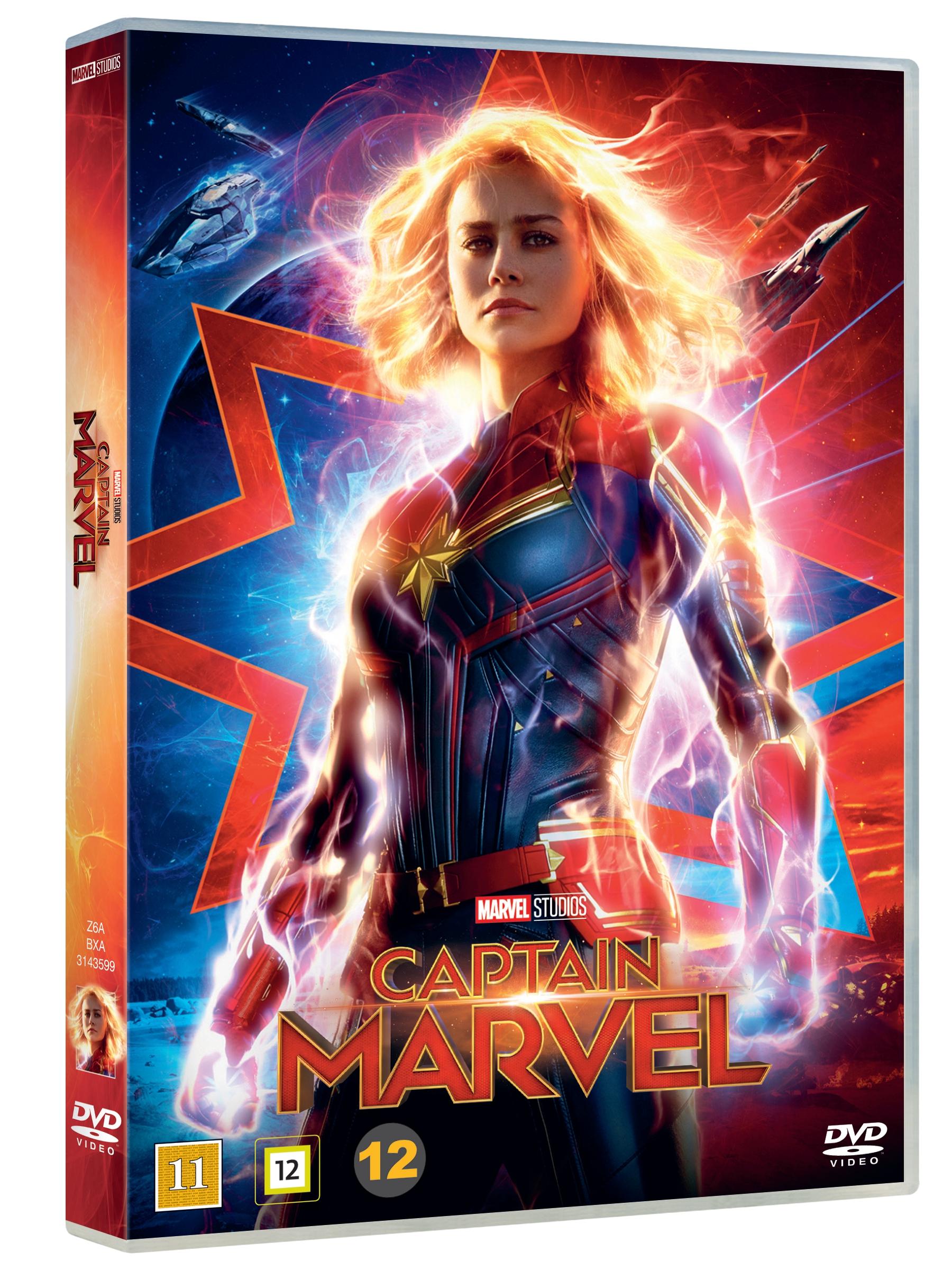 Captain Marvel- DVD
