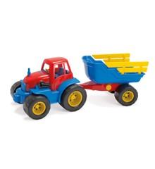 Dantoy - Traktor med Hænger, 42 cm