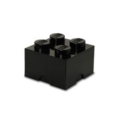 Room Copenhagen - LEGO Opbevaringskasse Brick 4 - Sort