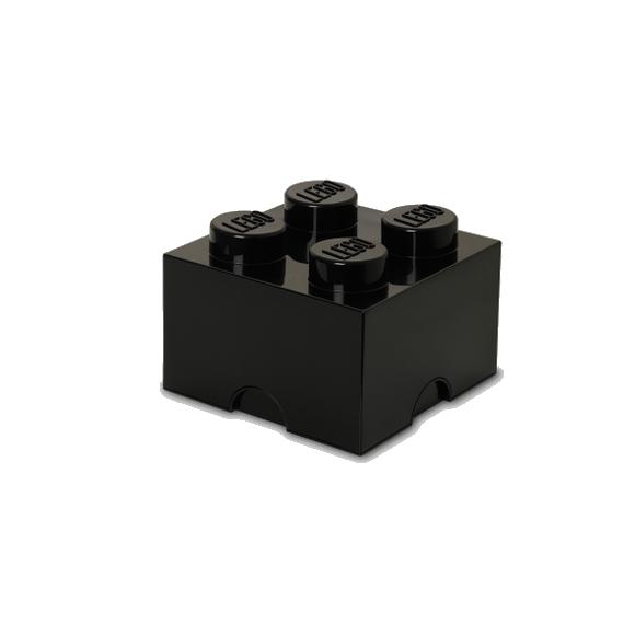 Room Copenhagen - LEGO Storeage Brick 4 - Black (40031733)