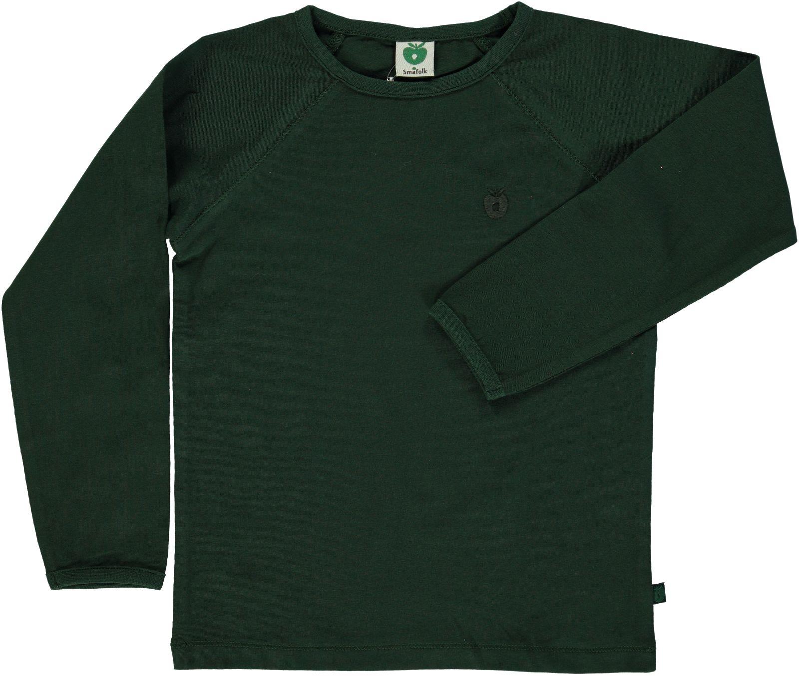 Småfolk - Organic Basic Longsleved T-Shirt - Mountain Green