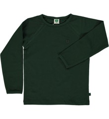Småfolk - Organic Basic Longsleved T-Shirt - Mountain Green