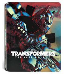 Transformers: The Last Knight - Steelbook (3D Blu-Ray)