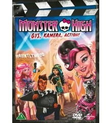 Monster High: Frights, Camera, Action! - DVD