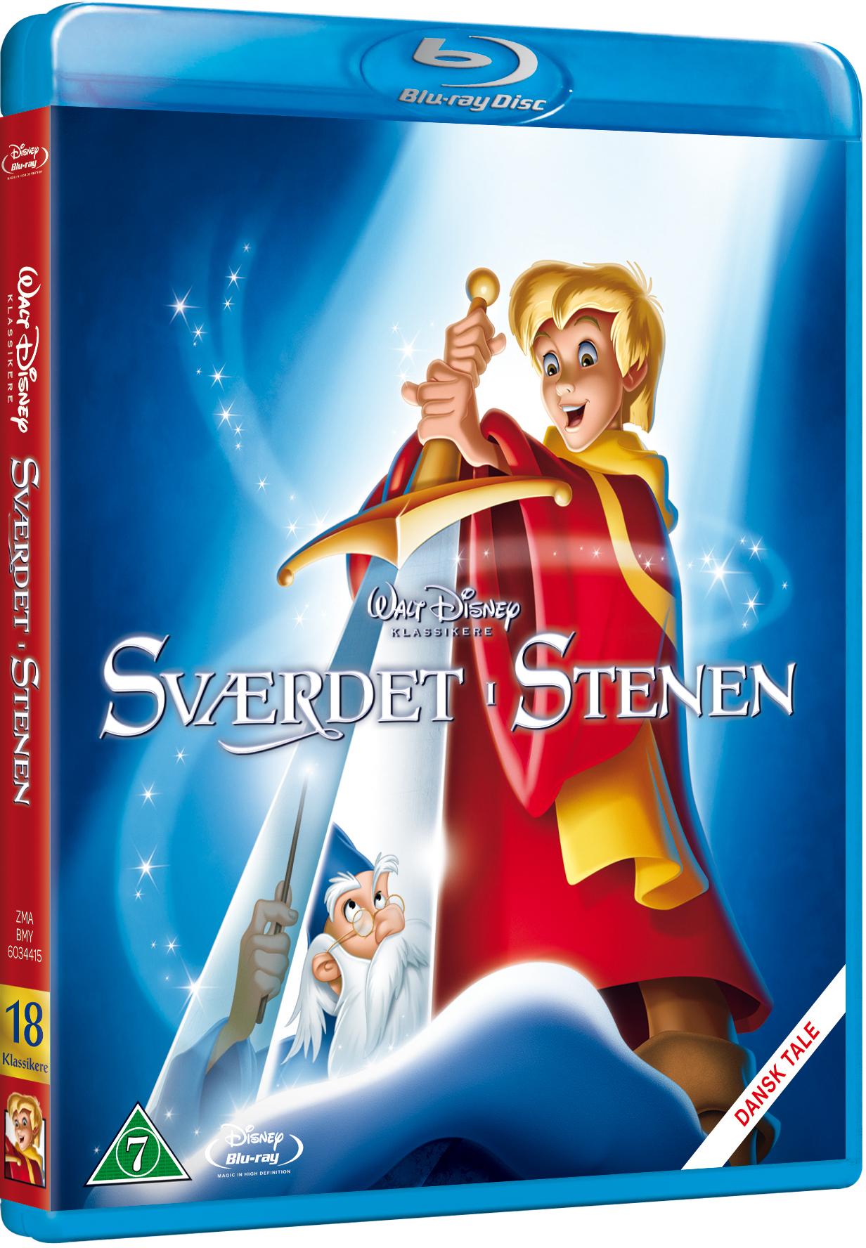 Sværdet i stenen Disney classic #18