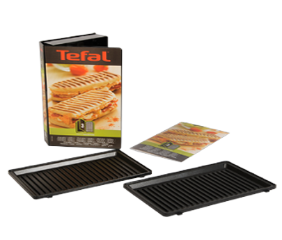 ​Tefal - Grillet Panini Set For Snack Collection (XA800312)