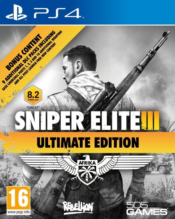 Sniper Elite III (3) - Ultimate Edition (Nordic)