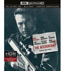 The Accountant (4K Blu-Ray)