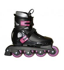 Roxa - Beetle Inliner Rollerblade - Black/Pink (size: 37-41) (1031ceriseL)