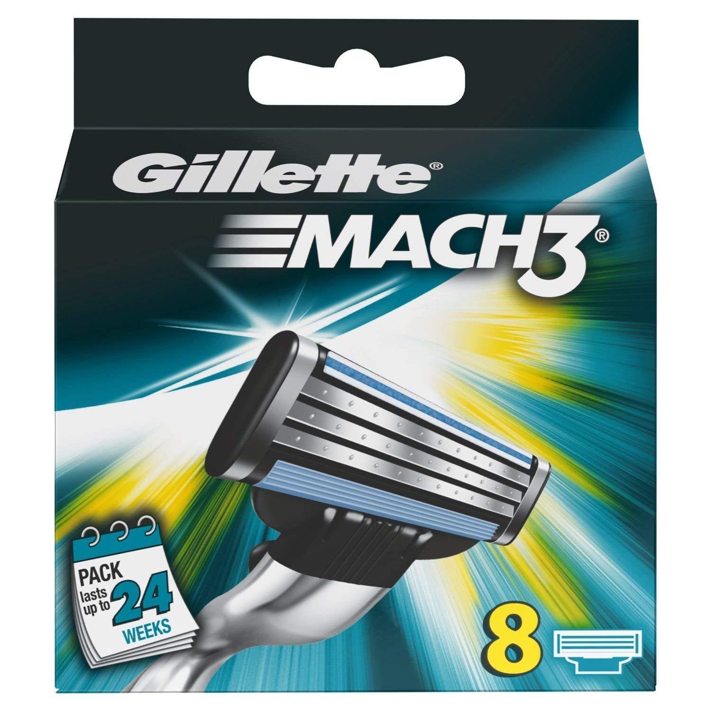 Gillette Mach3 8er Pack