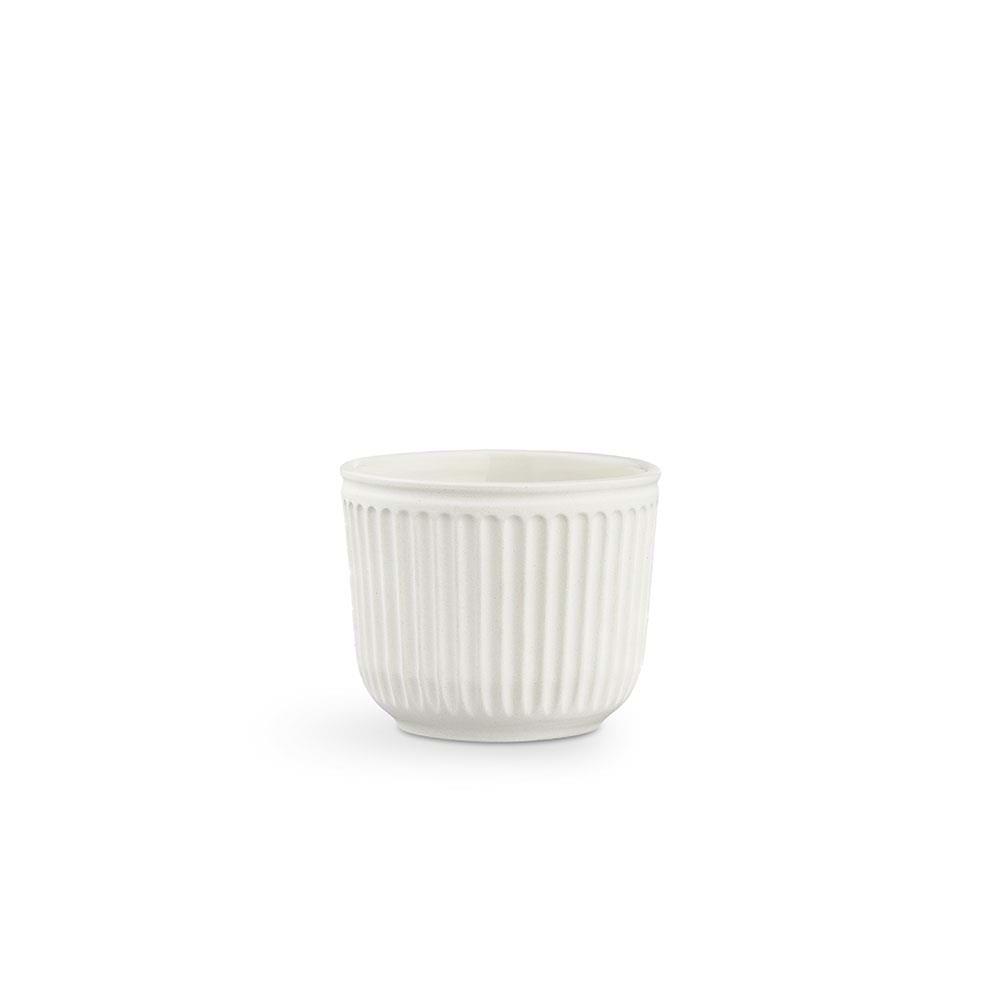 Kähler - Hammershøi Flowerpot Without Glaze Ø 11 - White (692585)