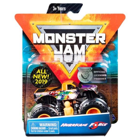 Monster Jam - 1:64 Single Pack - Hurricane Force (20105558)