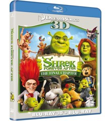 Shrek 4 - Forever After (3D Blu-Ray)