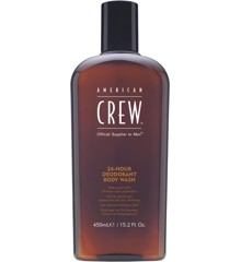 American Crew - 24-Hour Deodorant Body Wash 450ml