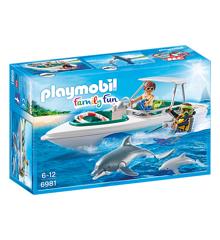Playmobil - Dykkertur Speedbåd (6981)