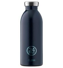24 Bottles - Clima Bottle 0,5 L - Rustic Deep Blue (24B158)