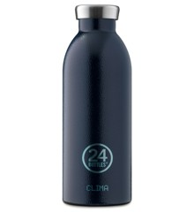24 Bottles - Clime Bottle 0,5 L - Rustik Dyb Blue