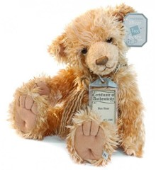 Suki - Silver Tag Teddy Bamse - Ben - Limited edition