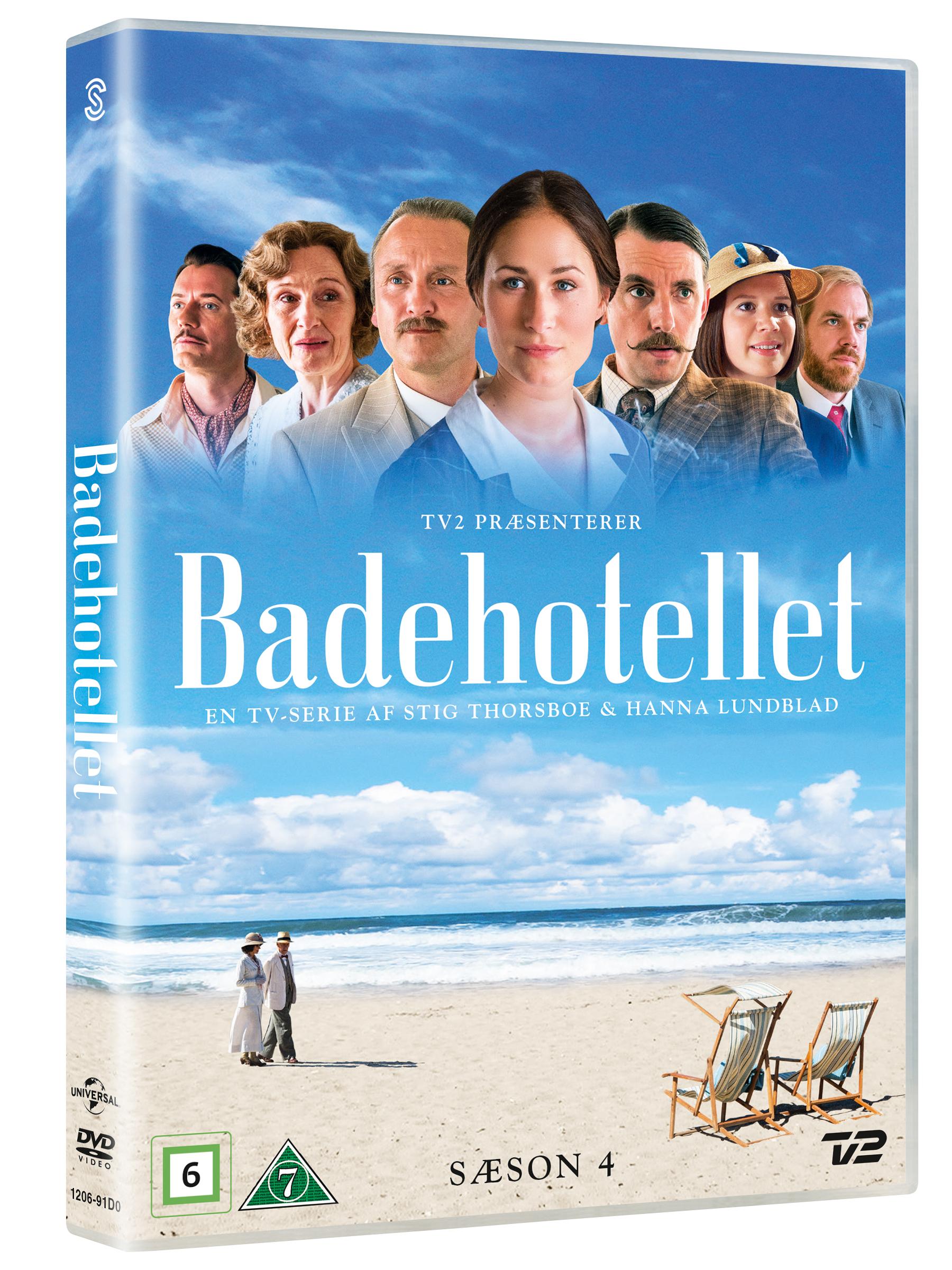 Badehotellet - Season 4 - DVD