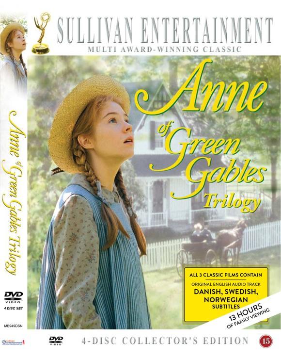 Anne fra Grønnebakken: Den komplette samling (4 Disc) - DVD (Nordic version)