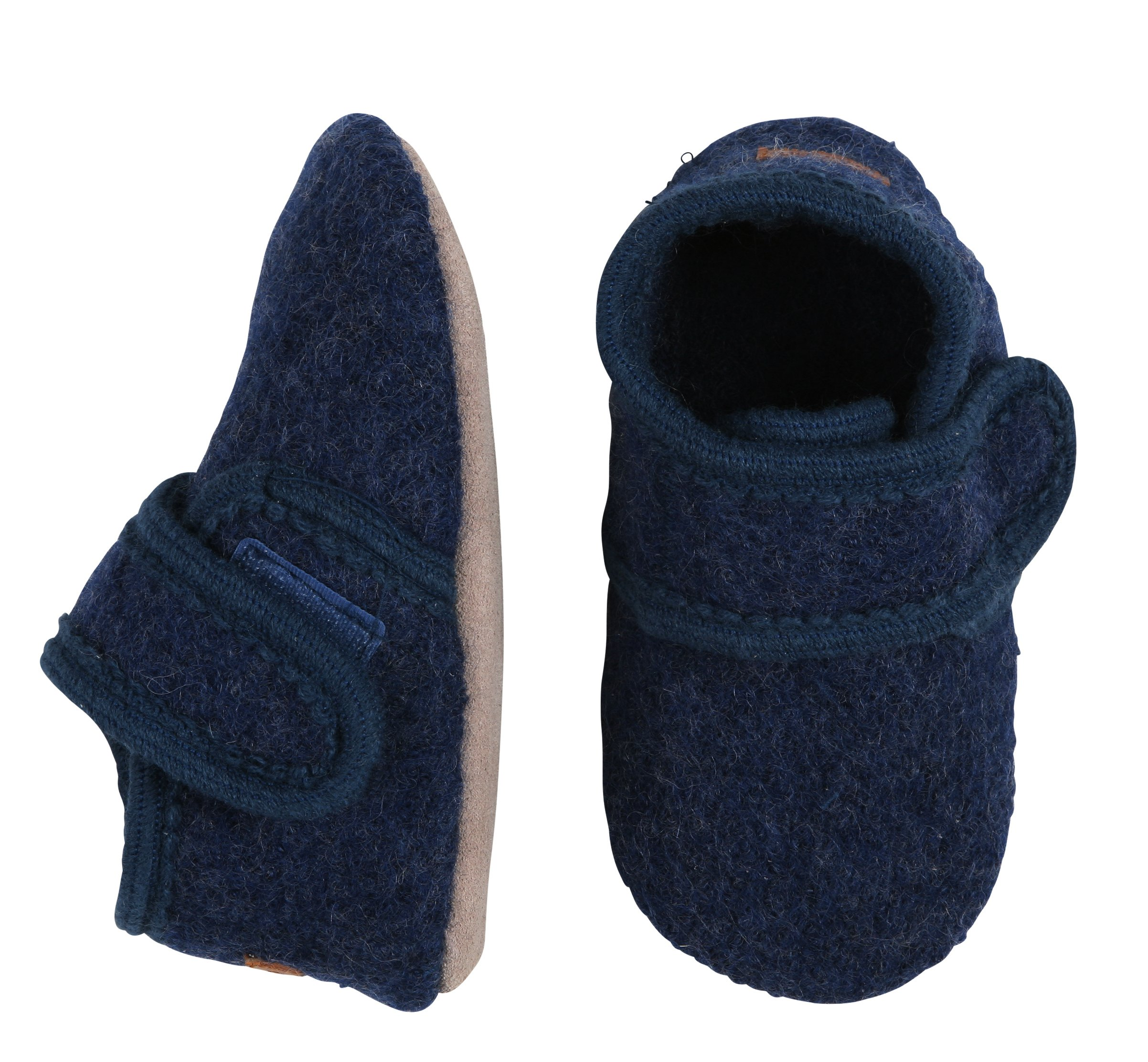 Melton - Wool Soft Shoe w. Velcro