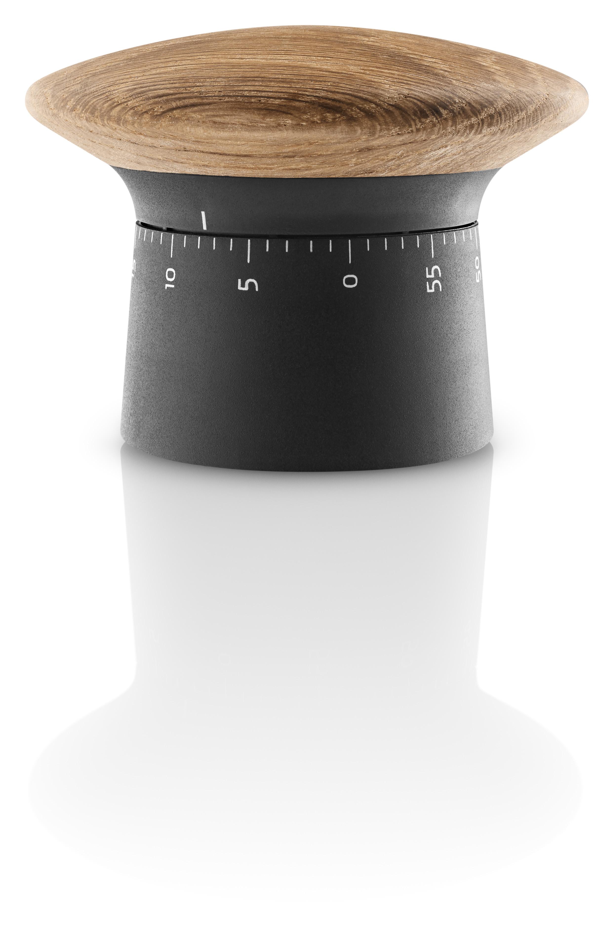 Eva Solo - Kitchen Timer - Black/Oak (520418)