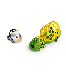 Oball - Go Grippers - John Deer Farm Trailer and Cow (10594)