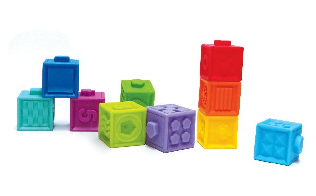 Edushape - Soft Sensory Blocks (997010)