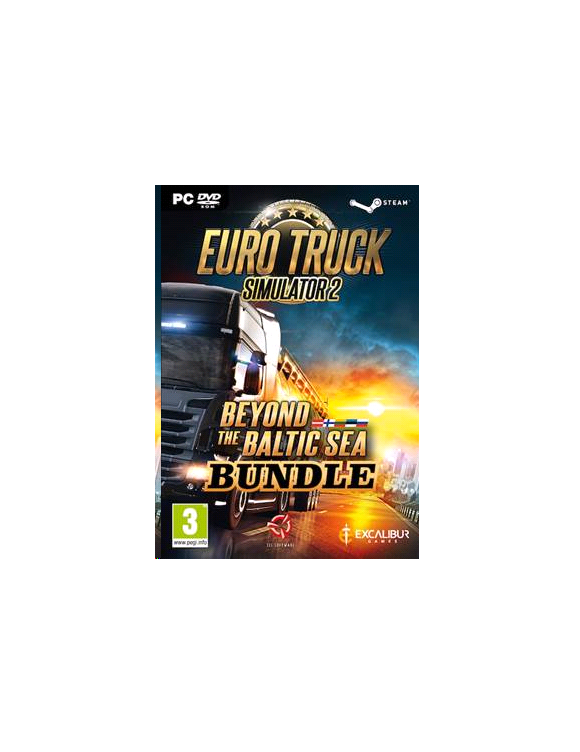 Euro Truck Simulator 2: Beyond the Baltic Sea (Bundle)