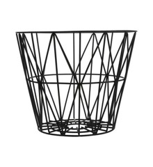 Ferm Living - Wire Basket Medium - Black (3063)