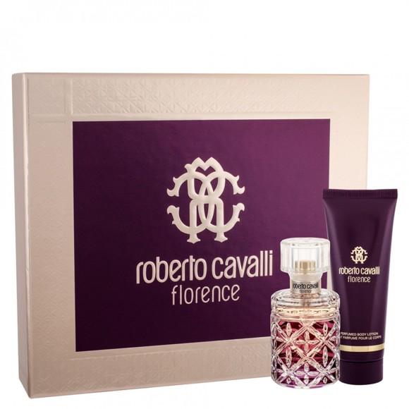 Roberto Cavalli - Florence EDP 50 ml + Body Lotion 75 ml - Gavesæt