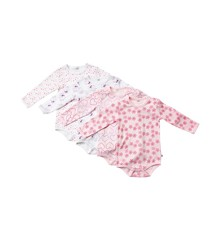 Pippi - L.S Body 4-Pack - Baby Pink 500